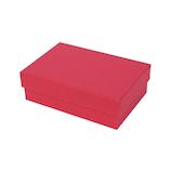 インディゴ カラフルボックス S PB073 レッド│ラッピング用品 ギフトボックス(組み立て)