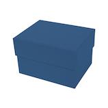 インディゴ カラフルボックス M PB075 ネイビーブルー│ラッピング用品 ギフトボックス(組み立て)