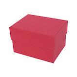 インディゴ カラフルボックス M PB076 レッド│ラッピング用品 ギフトボックス(組み立て)