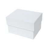 インディゴ カラフルボックス M PB077 ホワイト│ラッピング用品 ギフトボックス(組み立て)
