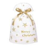 【クリスマス】 インディゴ スパークルバッグ L XG152 スター