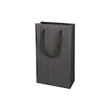 インディゴ ナローバッグ S ヘリンボーン PC203 ダークグレー│ラッピング用品 手提げ袋