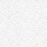 インディゴ ラッピングペーパー 土佐和紙ミニ PW289 青海波 シロ