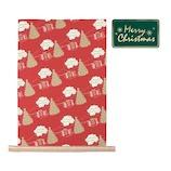 【クリスマス】 インディゴ セメントバッグ ウィンタータウン XP409 レッド