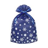 【クリスマス】 インディゴ グリーティングバッグ 3L XG498 ネイビーブルー