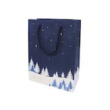 【クリスマス】 インディゴ キャリーバッグ M スノーフィールド XC511 ネイビーブルー