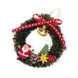 【クリスマス】 インディゴ オーナメント XR528 サンタフォレスト