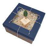 【バレンタイン】 インディゴ VB632 スウィーツボックス ネイビー  バレンタイン プレゼント ギフト チョコ プチギフト 手作り お菓子