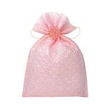 インディゴ 飾り袋 七宝/桃