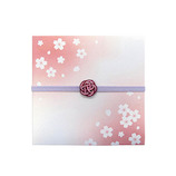 インディゴ 和・桜シリーズ ギフトカードケース PB870 花ごろも│ラッピング用品 ラッピング袋