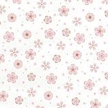 インディゴ 和紙 ロール (和シリーズ) PW915 花小紋│ラッピング用品 包装紙・ラッピングペーパー