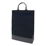 インディゴ キャリーバッグ L PC232 ブラック/グレー│ラッピング用品 手提げ袋