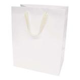 インディゴ ワイドバッグ L PC234 ホワイト│ラッピング用品 手提げ袋