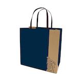 インディゴ キャリーバッグM MC250 ムーミン/ブロックNB│ラッピング用品 手提げ袋