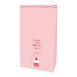 インディゴ ボトムバッグ S カップケーキ PP296 ライトピンク│ラッピング用品 ラッピング袋