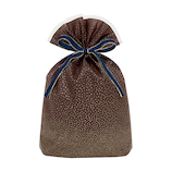 インディゴ スパークルバッグ L PG353 ブラウン│ラッピング用品 ラッピング袋