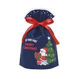 【クリスマス】 インディゴ グリーティングバッグ S XG601 メリークリスマス