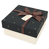 【バレンタイン】 インディゴ VB691 ガトーボックス クラウン ブラック  バレンタイン プレゼント ギフト チョコ 手作り お菓子