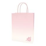 インディゴ 和・桜シリーズ 手提袋 M PC745 春桜│ラッピング用品 手提げ袋