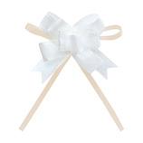 インディゴ ボウリボン PR759 トリアノン ホワイト│ラッピング用品 リボン