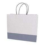 インディゴ 手提袋 M PC842 豆絞り 紺│ラッピング用品 手提げ袋