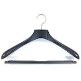 バルミーハンガー(Balmy Hanger) スーツ用ハンガー BH-4160E ダークブラウン│ハンガー・衣類収納 樹脂製ハンガー