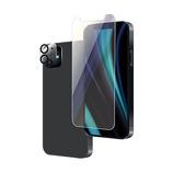 【iPhone12 mini】 ルプラス×東急ハンズ ガラス+カメラ保護 ブルーライトカット i12m│携帯・スマホアクセサリー 液晶保護フィルム