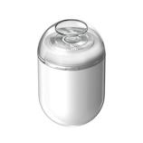 デケム(DECEM) 超小型USBミニシェーバー ホワイト│フェイスケア 電気シェーバー・髭トリマー