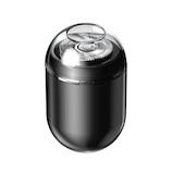 デケム(DECEM) 超小型USBミニシェーバー ブラック│フェイスケア 電気シェーバー・髭トリマー
