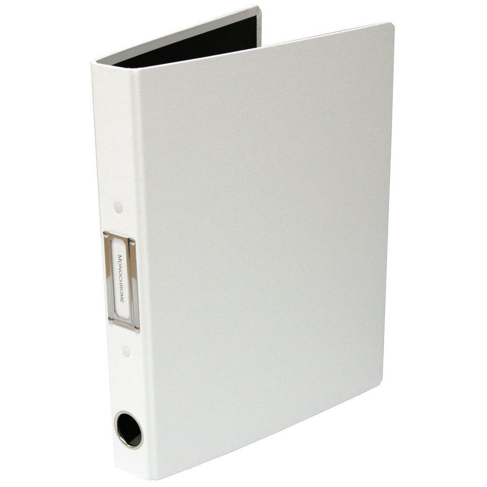 エルクラッセ A4Sパイプファイル 3cm ホワイト