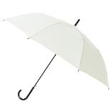 長寿乃里 ポキッと折れるんです 長傘 ホワイト 65cm