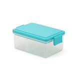 ゲルクール(GEL−COOL) スクエア クリア L ブルー 400mL│お弁当箱 弁当箱