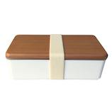 BENTOSTORE 木蓋のお弁当箱古代杉 500mL ホワイト