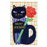 オリエンタルベリー Cat&Flower・Black cat