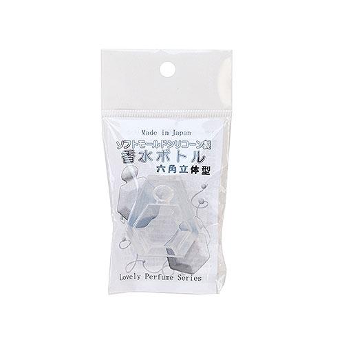 ソフトモールド C−468 香水ボトル六角立体