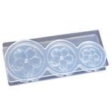 亀島商店 シリコーン型 ソフトモールド フラワー立体型 C−645 さくら│型取り・成型材料 シリコンゴム