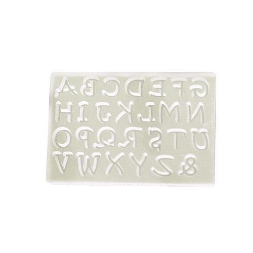 ソフトモールド アルファベット大文字M T−736