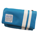 スパーク MOVETEMP 三つ折れ財布 RM−2 ブルー│財布・名刺入れ 革財布