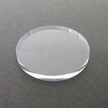 アクリル円盤 径70×3mm クリア│樹脂・プラスチック アクリル板