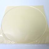 アクリル円盤 径250×3mm クリア│樹脂・プラスチック アクリル板