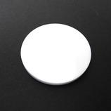 サワダ アクリル円盤 白 40φ×3t│樹脂・プラスチック アクリル板