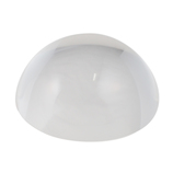 サワダプラテック(SAWADA PLATEC) アクリルブロック 半球 径50mm 1/2 クリア│樹脂・プラスチック アクリルブロック・球