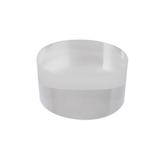 サワダプラテック(SAWADA PLATEC) アクリルブロック 円柱 径30×15mm クリア│樹脂・プラスチック アクリルブロック・球