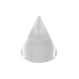 サワダプラテック(SAWADA PLATEC) アクリルブロック 円錐 径30×30mm クリア│樹脂・プラスチック アクリルブロック・球