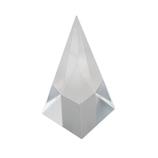 サワダプラテック(SAWADA PLATEC) アクリルブロック 四角錘 30×30×60mm クリア│樹脂・プラスチック アクリルブロック・球