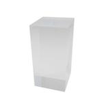 サワダプラテック(SAWADA PLATEC) アクリルブロック 50×50×100mm クリア│樹脂・プラスチック アクリルブロック・球