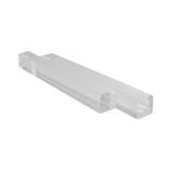 サワダプラテック(SAWADA PLATEC) アクリルブロック 角棒 10×10×100mm クリア 2本入り│樹脂・プラスチック アクリルブロック・球