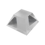 サワダプラテック(SAWADA PLATEC) アクリルブロック 台形 30×30×16mm クリア│樹脂・プラスチック アクリルブロック・球
