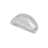 サワダプラテック(SAWADA PLATEC) アクリルブロック 半円 30×10mm クリア│樹脂・プラスチック アクリルブロック・球
