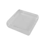 サワダプラテック(SAWADA PLATEC) アクリルブロック 四角 30×30×10mm クリア│樹脂・プラスチック アクリルブロック・球